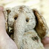 Куклы и игрушки ручной работы. Ярмарка Мастеров - ручная работа слон Алеша. Коллекционная игрушка тедди.. Handmade.