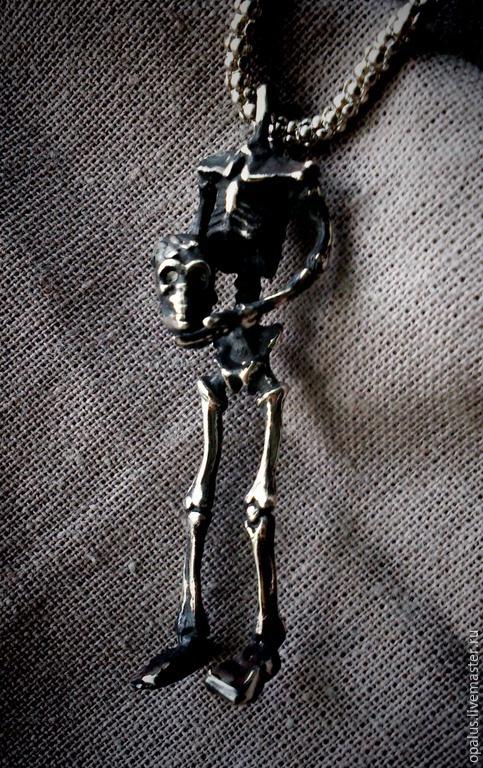 """Украшения для мужчин, ручной работы. Ярмарка Мастеров - ручная работа. Купить Подвес """"Всё своё ..."""". Handmade. Серебряный кулон"""