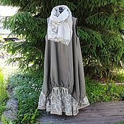 Одежда handmade. Livemaster - original item №189p. Linen dress sundress. Handmade.