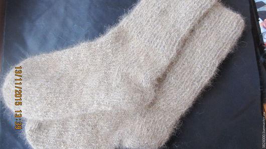Носки, Чулки ручной работы. Ярмарка Мастеров - ручная работа. Купить Носки 45 р. ( 30 см.) из собачьей шерсти №35/16. Handmade.