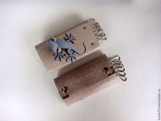 """Персональные подарки ручной работы. Ярмарка Мастеров - ручная работа. Купить ключница """"Чапчерица"""". Handmade. Подарок, ключница, чехол для ключей"""