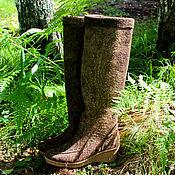 Обувь ручной работы handmade. Livemaster - original item Boots-transformers milled