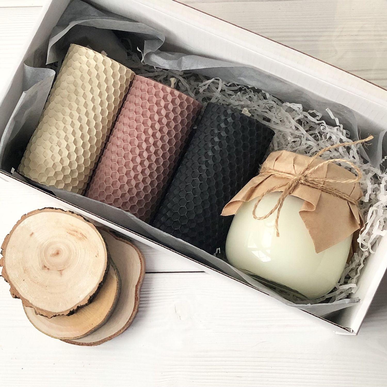 Подарочный набор свечей, Свечи, Солнцево,  Фото №1