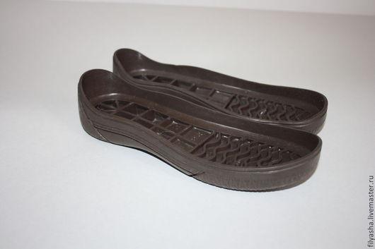 Другие виды рукоделия ручной работы. Ярмарка Мастеров - ручная работа. Купить Подошва для обуви - детская. Handmade. Коричневый
