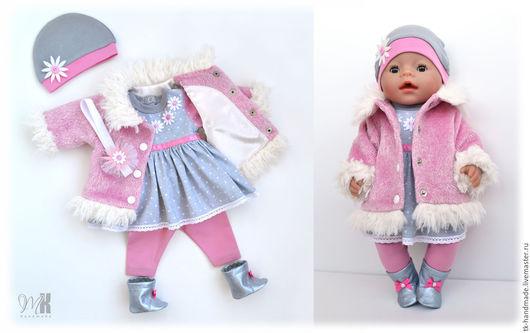 """Одежда для кукол ручной работы. Ярмарка Мастеров - ручная работа. Купить Комплект """"Нежность"""" для Беби Бон. Handmade. Комбинированный"""