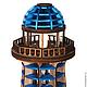Освещение ручной работы. Заказать Светильник Маяк Lighthouse Lamp II. WOODANDROOT. Ярмарка Мастеров. Море, моряк, деревянный светильник