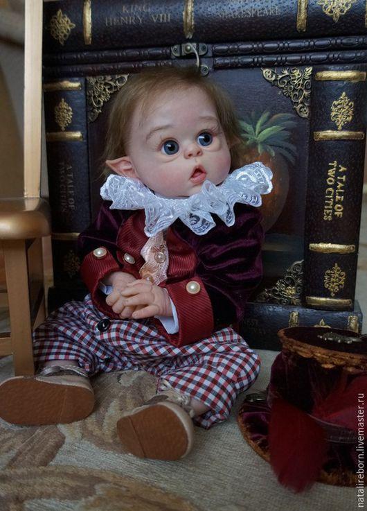 Куклы-младенцы и reborn ручной работы. Ярмарка Мастеров - ручная работа. Купить Домовенок Оливер.Молд Офелия.Кукла реборн. Handmade.