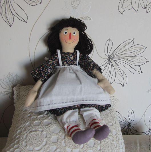 Коллекционные куклы ручной работы. Ярмарка Мастеров - ручная работа. Купить Тряпичная кукла Энн. Handmade. Комбинированный