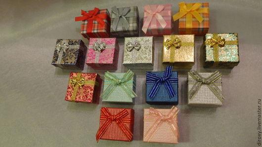 Упаковка ручной работы. Ярмарка Мастеров - ручная работа. Купить Подарочная коробочка, МНОГО разных, упаковка украшений, колец. Handmade.