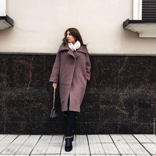 """Верхняя одежда ручной работы. Ярмарка Мастеров - ручная работа. Купить Пальто  демисезонное """"Завтрак у Тиффани"""" look2. Handmade. Серый"""
