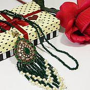 Украшения handmade. Livemaster - original item Necklace Hürrem Sultan in the tradition of ancient Turkish jewelry. ( T27). Handmade.