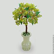 Цветы и флористика handmade. Livemaster - original item A tree from the beryl