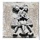 Барельеф на Дмитриевском соборе во Владимире, XIIв. (южный фасад). Прообраз нашей работы.