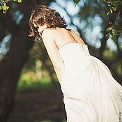 Одежда ручной работы. Ярмарка Мастеров - ручная работа Свадебное платье для романтичной невесты. Handmade.