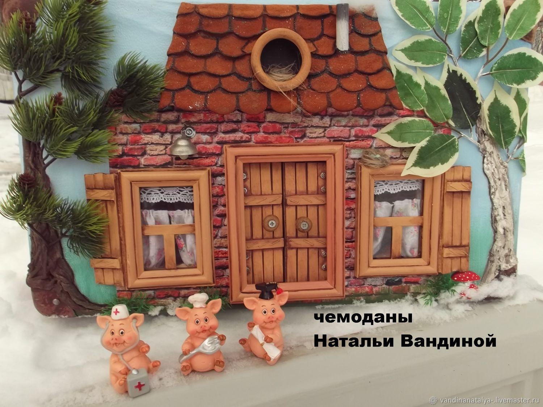 "Чемодан ""Домик Наф-Нафа"", Doll houses, Balakovo,  Фото №1"