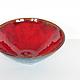 Тарелки ручной работы. Тарелка керамическая Красный мак - 3. NIBOQUA авторская керамика. Интернет-магазин Ярмарка Мастеров. Мак