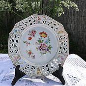 Винтаж handmade. Livemaster - original item Wall plate