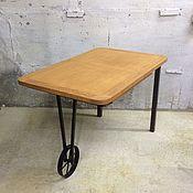 Для дома и интерьера ручной работы. Ярмарка Мастеров - ручная работа Стол раздвижной в стиле Лофт 2. Handmade.