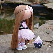 Куклы и игрушки ручной работы. Ярмарка Мастеров - ручная работа Гламурная морячка. Handmade.