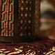 Освещение ручной работы. будуарный фонарь из бисера. Mantipa 123. Ярмарка Мастеров. Уют, украшение, будуарный фонарь, бронзовая наклкдка