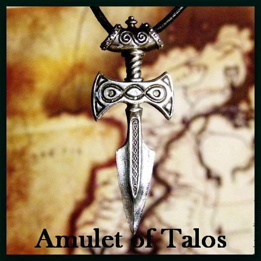"""Подарки для мужчин, ручной работы. Ярмарка Мастеров - ручная работа. Купить Кулон """"Amulet of Talos ( SKYRIM )"""" - серебро 925. Handmade."""