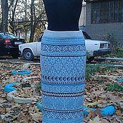 """Одежда ручной работы. Ярмарка Мастеров - ручная работа Вязаная длинная юбка """"Перу"""". Handmade."""