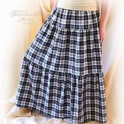 Одежда handmade. Livemaster - original item Skirt autumn