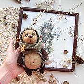Куклы и игрушки ручной работы. Ярмарка Мастеров - ручная работа Игрушка ежик - Toy Hedgehog - Knit Toy - Soft Hedgehog. Handmade.
