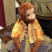 Куклы и игрушки handmade. Livemaster - original item Friends Teddy. The author`s work.Monkey Chi-Chi-Chi. Handmade.