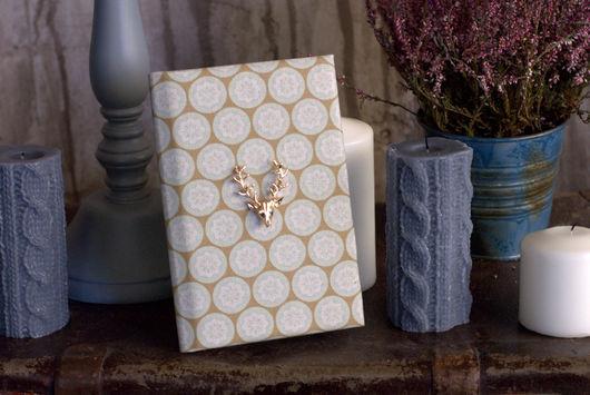 блокнот ручной работы, блокнот в мягкой обложке, минималистичный блокнот, минимум декора, скрапбукинг блокнот, ежедневник с белыми листами