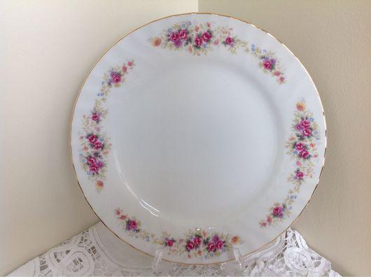 Винтажная посуда. Ярмарка Мастеров - ручная работа. Купить Старинный японский фарфор. SONE. Комплект тарелок 6 шт 1950-е. Handmade.