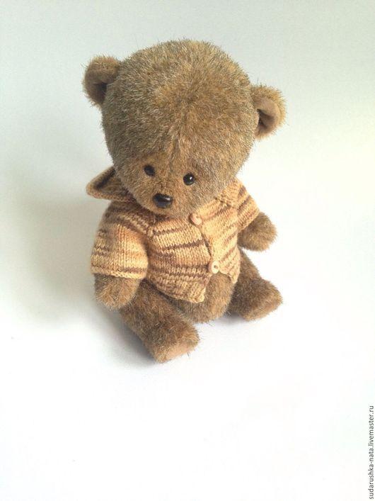 Мишки Тедди ручной работы. Ярмарка Мастеров - ручная работа. Купить Мэтью. Handmade. Коричневый, сделано с любовью, искусственный мех