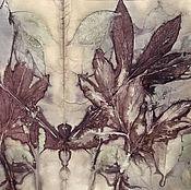Картины и панно ручной работы. Ярмарка Мастеров - ручная работа Картина Лист 1 из серии Осенние фантазии. Handmade.