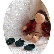 Куклы и игрушки ручной работы. Ярмарка Мастеров - ручная работа Кукла к Рождеству Меланья. Handmade.