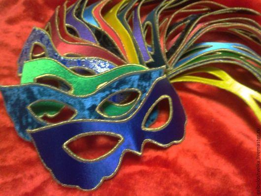 Карнавальные костюмы ручной работы. Ярмарка Мастеров - ручная работа. Купить Маска карнавальная. Handmade. Однотонный, карнавал, креп-сатин