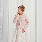 Свадебный салон handmade. Livemaster - original item Wedding coat, Bridal jacket, Winter wedding, Inna Cardigan. Handmade.
