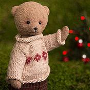 Куклы и игрушки ручной работы. Ярмарка Мастеров - ручная работа Мишка Тедди Лёня. Handmade.