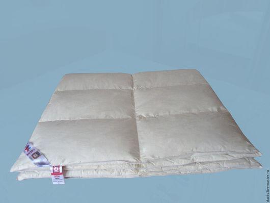 Текстиль, ковры ручной работы. Ярмарка Мастеров - ручная работа. Купить Одеяло белое 140 см на 205 см Всесезонное. Handmade.
