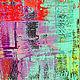 Абстракция ручной работы. Абстрактная живопись. Glow.. Анна. Ярмарка Мастеров. Неон, подарок женщине, тропический