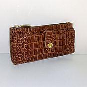 Сумки и аксессуары handmade. Livemaster - original item Wallet leather. Handmade.