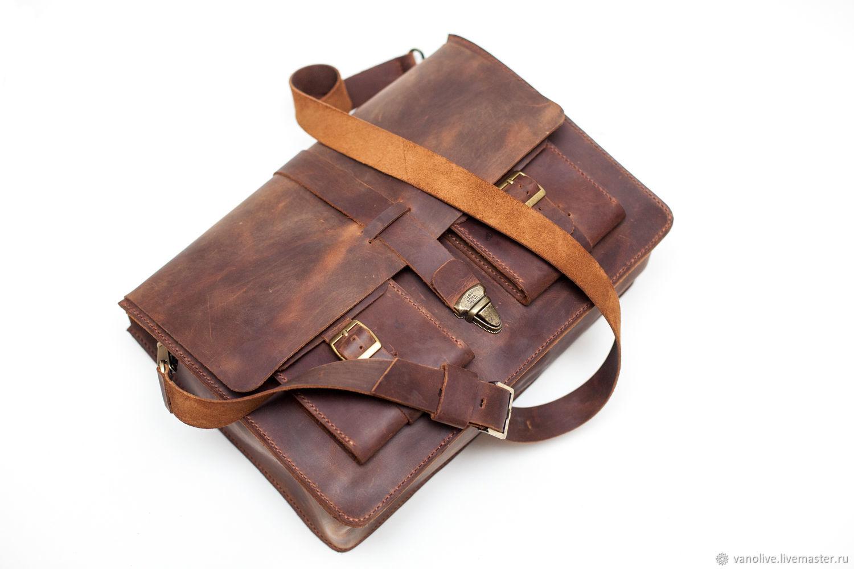 85990976cf19 Мужские сумки ручной работы. Ярмарка Мастеров - ручная работа. Купить Сумка  из натуральной кожи ...