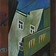 Город ручной работы. Ярмарка Мастеров - ручная работа. Купить Хохловский, пастель,бумага 21х29. Handmade. Графика, пастель