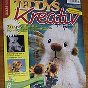 Материалы для творчества ручной работы. Ярмарка Мастеров - ручная работа Журнал Teddys Kreativ  3/2010. Handmade.