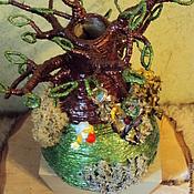 Для дома и интерьера ручной работы. Ярмарка Мастеров - ручная работа Ваза Дерево с барашком. Handmade.