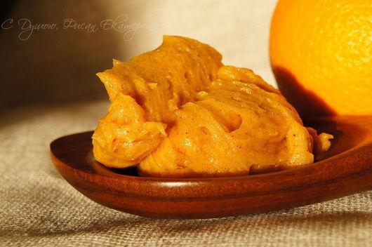 Мыло ручной работы. Ярмарка Мастеров - ручная работа. Купить Куркума-Апельсин. Натуральное крем-мыло. Handmade. Оранжевый, желтый