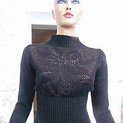 Одежда ручной работы. Ярмарка Мастеров - ручная работа Кофта ажурная вязаная. Handmade.