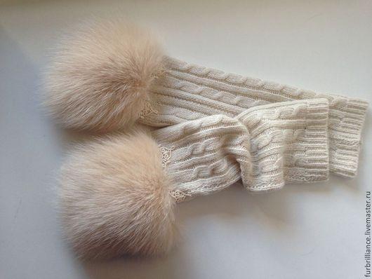 Эксклюзивные аксессуары из натурального меха - варежки, перчатки, митенки. Ручная работа. Tf_fur
