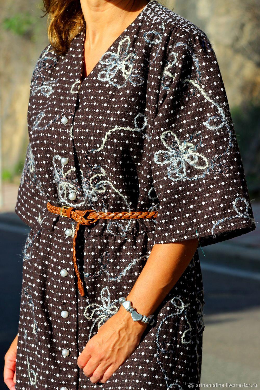 Платье из шерсти на шелковом подкладе, Платья, Каглиари,  Фото №1