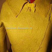 Одежда handmade. Livemaster - original item Bolero Lemon color. Handmade.