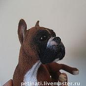 Куклы и игрушки handmade. Livemaster - original item dog-puppy